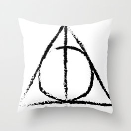Master of Death Throw Pillow