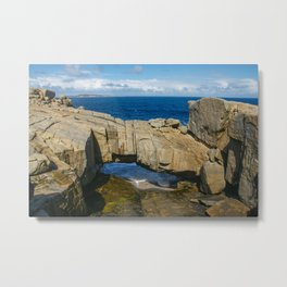 Natural Bridge, Torndirrup and West Cape Howe National Parks, Albany, Western Australia Metal Print