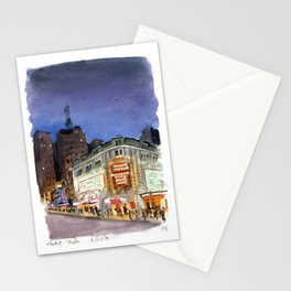 Shubert Theatre Hello Dolly Marquee Stationery Cards