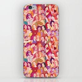 Yo girlfriend – U R my BFF!! iPhone Skin
