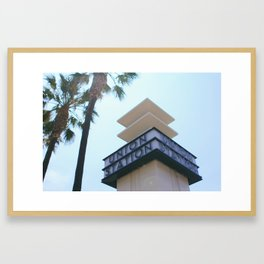 Welcome to Union Station Framed Art Print