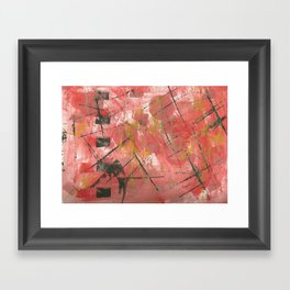 Uh Huh! Framed Art Print