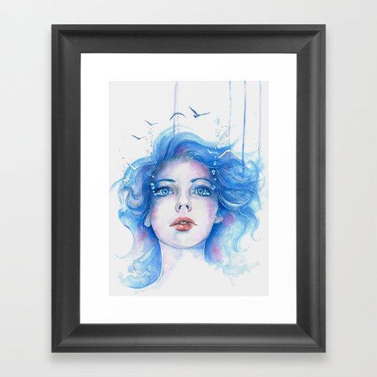 alis volat propriis Framed Art Print