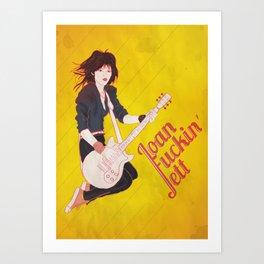 Joan Jett Poster Art Print