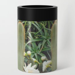 Cactus and Flowers Can Cooler