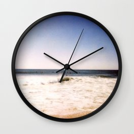 New York Summer at the Beach #2 Wall Clock