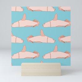 Resting Eared Seal Pattern Mini Art Print