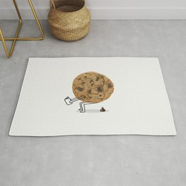 The Making of Chocolate Chips Rug