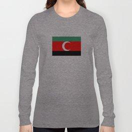 Darfur sudan country region ethnic flag Long Sleeve T-shirt