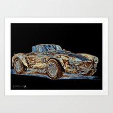 1965 Shelby AC Cobra Art Print