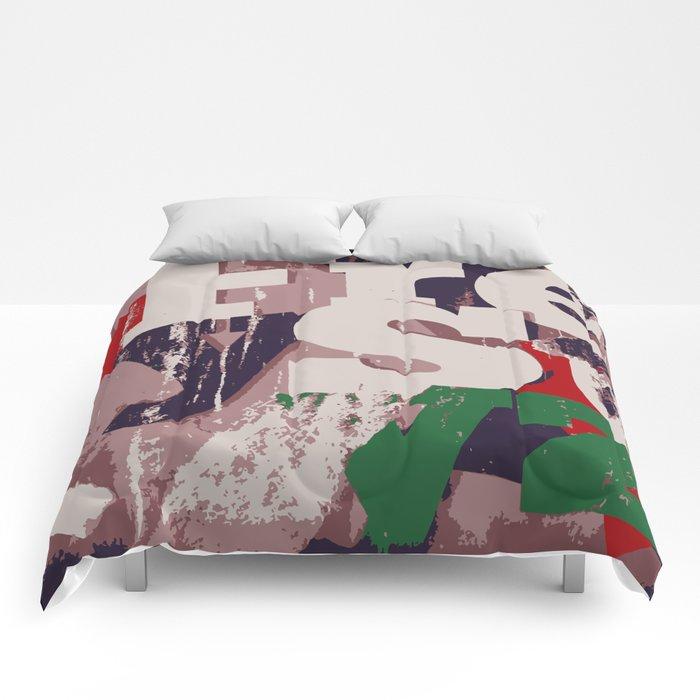 Alphabet Soup Comforters