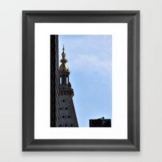 city skies Framed Art Print