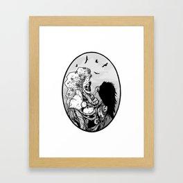 Knighthawk Framed Art Print