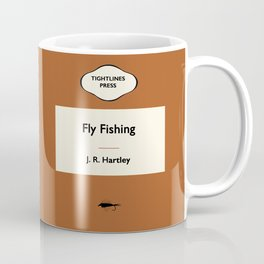 FLY FISHING by JR Hartley Penguin Paperback Cover Art Coffee Mug