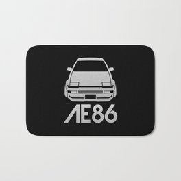 Toyota AE86 Hachi Roku - silver - Bath Mat