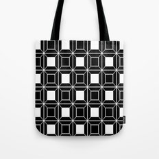 Abstract geometric pattern - black and white. Tote Bag