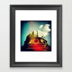 'OBSERVE' Framed Art Print