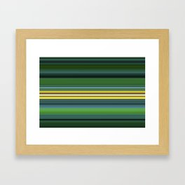 The Yellow Line Framed Art Print