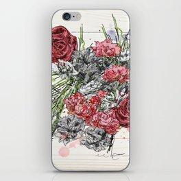 Vintage Flowers iPhone Skin