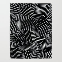 Abstract Geometric #1 Poster