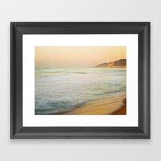 Golden Sunrise Framed Art Print