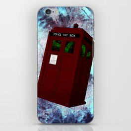 View From the Tardis Portal iPhone Skin