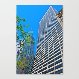 Bank of America Tower with Grace Building - NYC Canvas Print