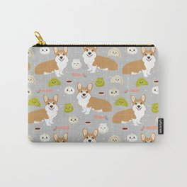 Corgi dim sum kawaii food welsh corgis cute dog pure breed must have gifts Carry-All Pouch