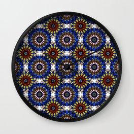 The Damascus pattern . Wall Clock