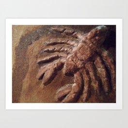Scorpion by May'o Art Print