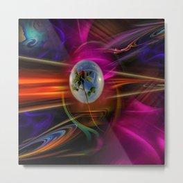 Mystical world - Love greetings Metal Print