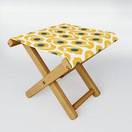 Joy collection- Yellow flowers Folding Stool