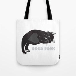 Good Luck cat Tote Bag