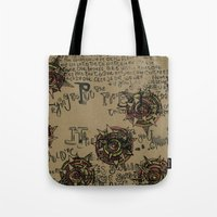 quotes Tote Bags featuring Quotes by Aubree Eisenwinter
