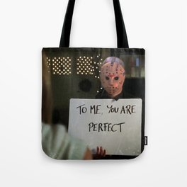 JASON VORHEES IN LOVE ACTUALLY Tote Bag