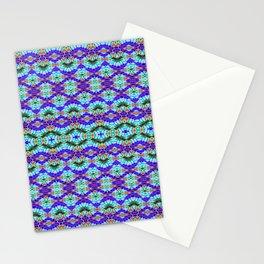 Feathery Tie Dye Stationery Cards