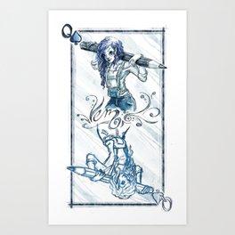 Queen Card Art Print