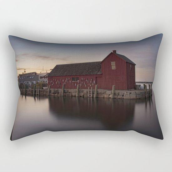 Motif #1 after sunset Rectangular Pillow