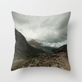 Mout Edith Cavell Throw Pillow