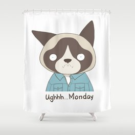 Ughh...Monday Shower Curtain