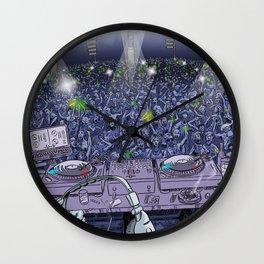 Old Skool DJ Wall Clock
