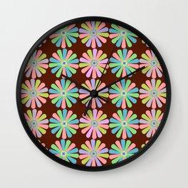 zappwaits Flower Wall Clock