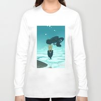 underwater Long Sleeve T-shirts featuring Underwater by Triona Tree Farrell