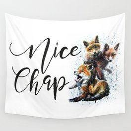 Nice Chap Foxes Wall Tapestry