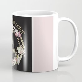 """My Favorite Color is You."" Lavender Wreath Coffee Mug"