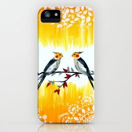 Cockatiels iPhone Case