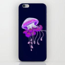 Ruffled Jellyfish iPhone Skin