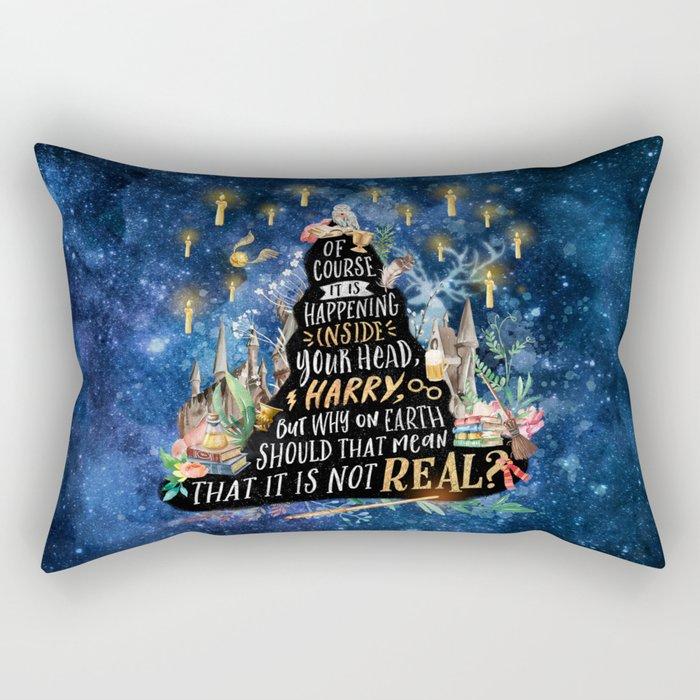 Rectangular Pillow by Stella Bookish Art