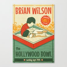 Smile Live at the Hollywood Bowl Canvas Print