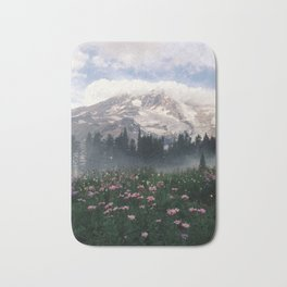Mt Rainier Bath Mat